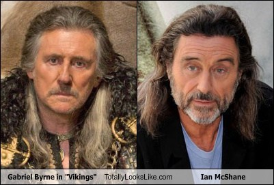 "Gabriel Byrne in ""Vikings"" Totally Looks Like Ian McShane"
