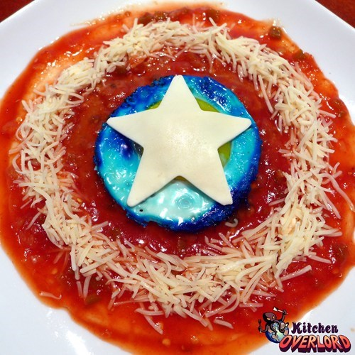 Captain America's Breakfast S.H.I.E.L.D.