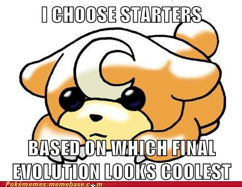 How I Choose Starters
