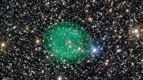 Space Shot of the Day: A Green Nebula in Deep Space