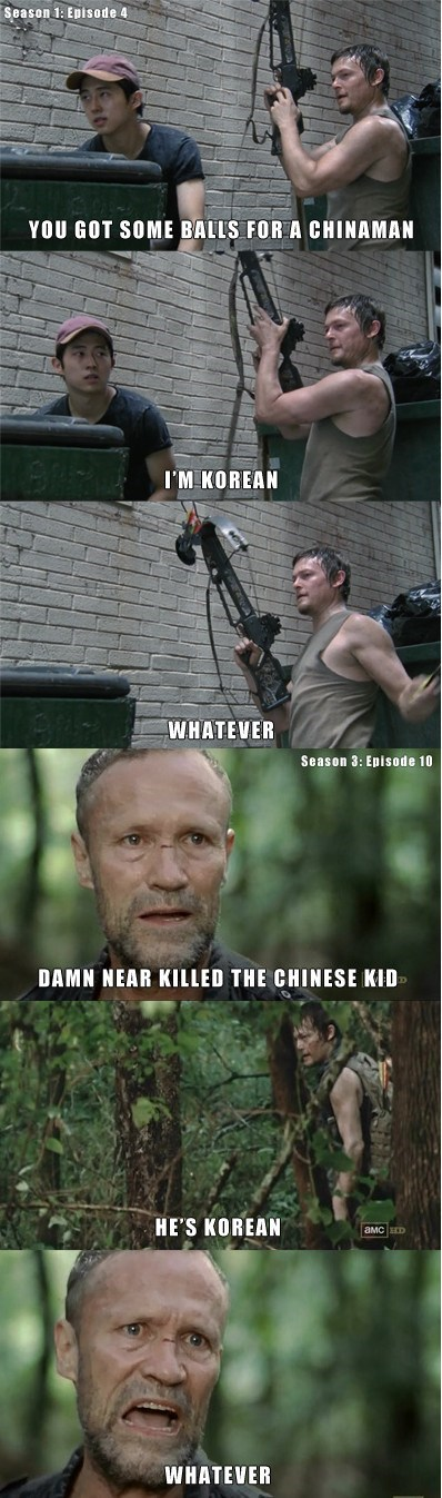 zombie,racist,The Walking Dead
