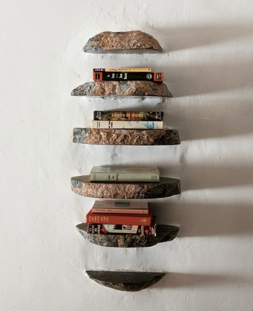 These Shelves are Earthy AND Classy