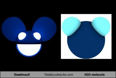 Deadmau5 Totally Looks Like H2O molecule