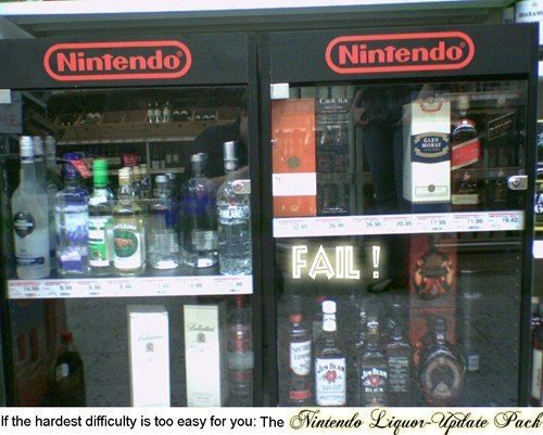 Nintendo Gets into the Liquor Business