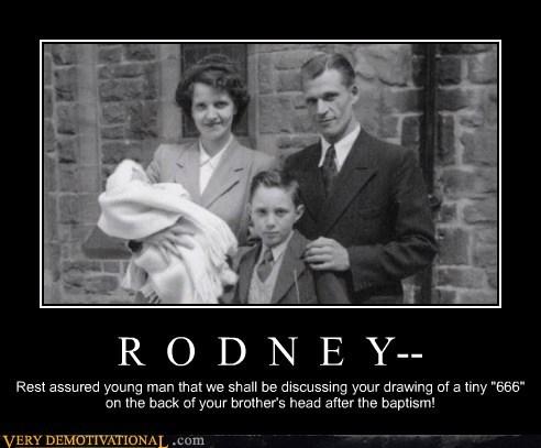 Rodney Is a Jokester