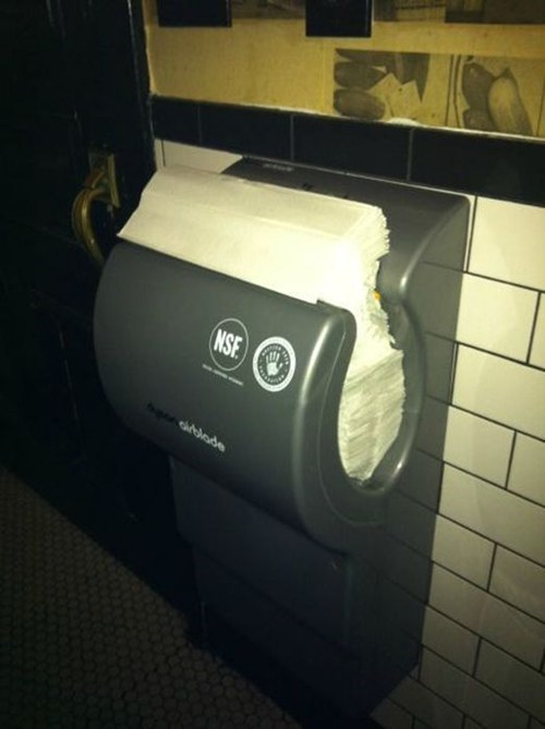 Finally! An Air Hand Dryer That Works!