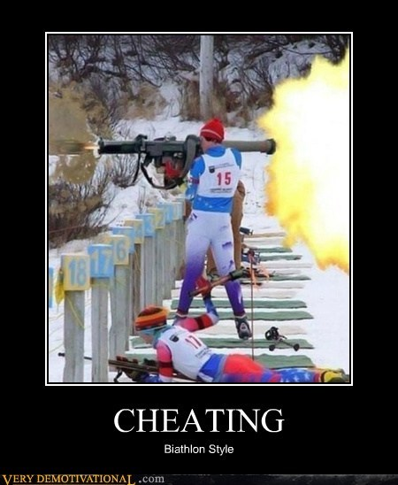 Now That's a Biathlon