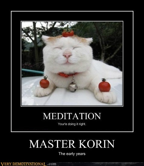 Master Korin Is at Peace