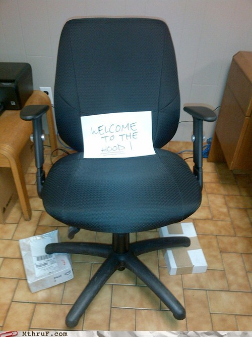 Don't Leave Your Chair in the Bad Part of the Office