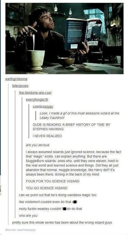 Magic and Science Together at Last