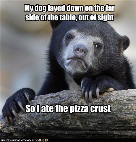 It was pizza night