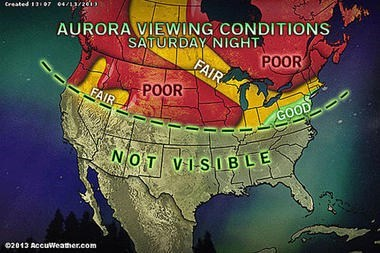 Did You Get to See the Aurora on Saturday Night? I Didn't...Stupid Seattle.