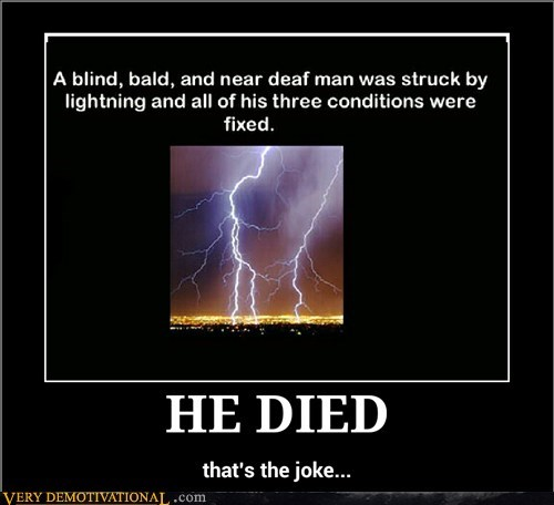 man,died,lightning,deaf