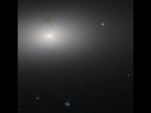 One Hazy Galaxy