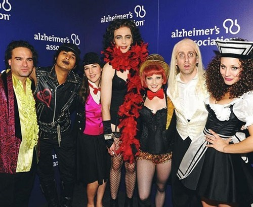 Big Bang Theory Cast Goes Rocky Horror