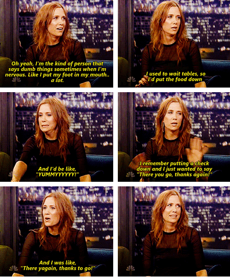 Just Kristen Wiig Being Herself