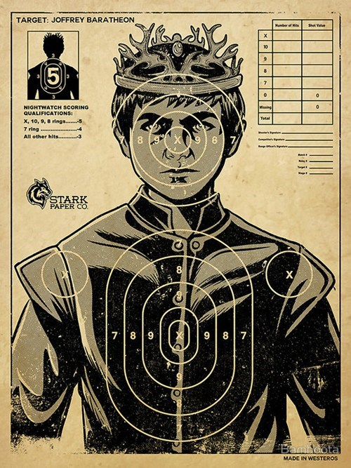 Game of Thrones,joffrey baratheon,Target