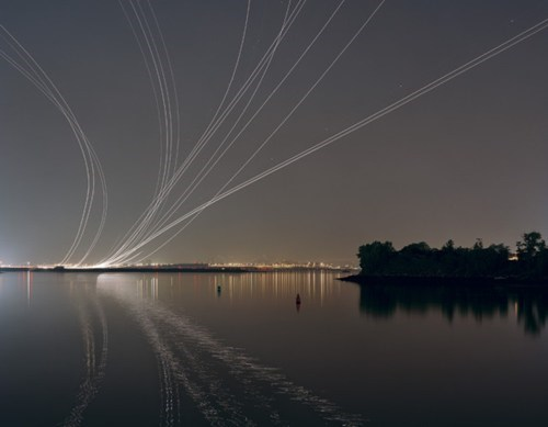 This Nighttime Photo Shows Jets Moving Through the Night