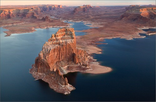 The Stone Castles on Lake Powell