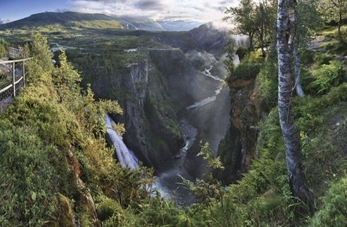 A Wide View of Hordaland, Norway