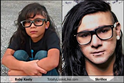 Baby Kaely Totally Looks Like Skrillex