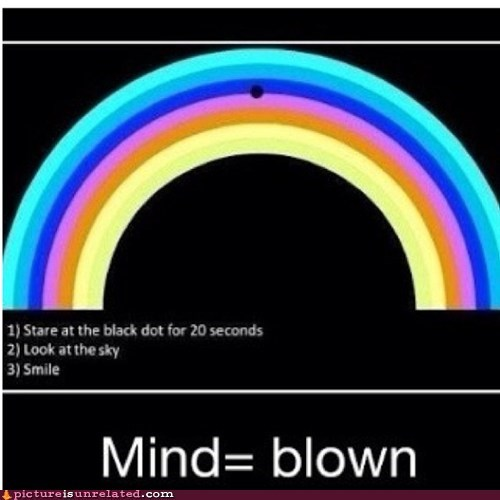 Rainbow Illusion Will Illuminate Your Day