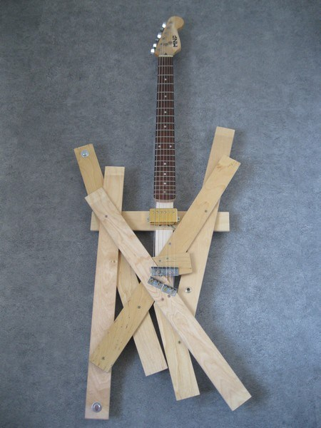 Would You Play This Guitar Made from Bed Planks?