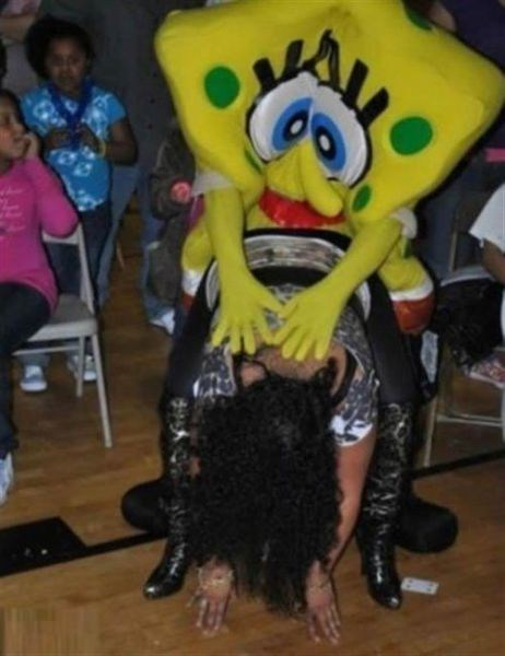 This Sponge has Been Soakin' Up the Booze