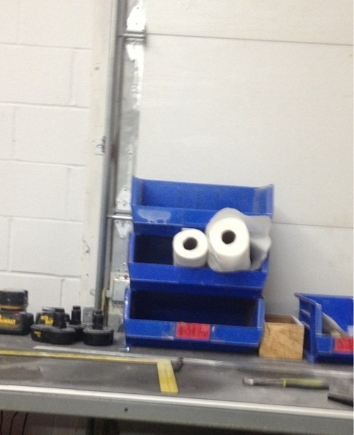 I Found Cookie Monster at Work