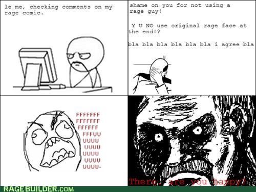 rage faces,making rage comics