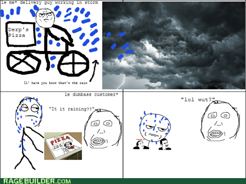 Delivery Rage