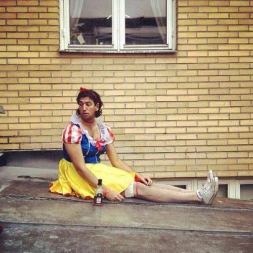 cosplay,disney,snow white,cross dressers,poorly dressed,g rated