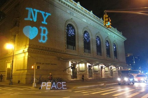 Brooklyn Stands in Solidarity With Boston