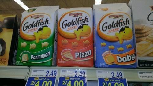 baby flavor,goldfish,food flavors