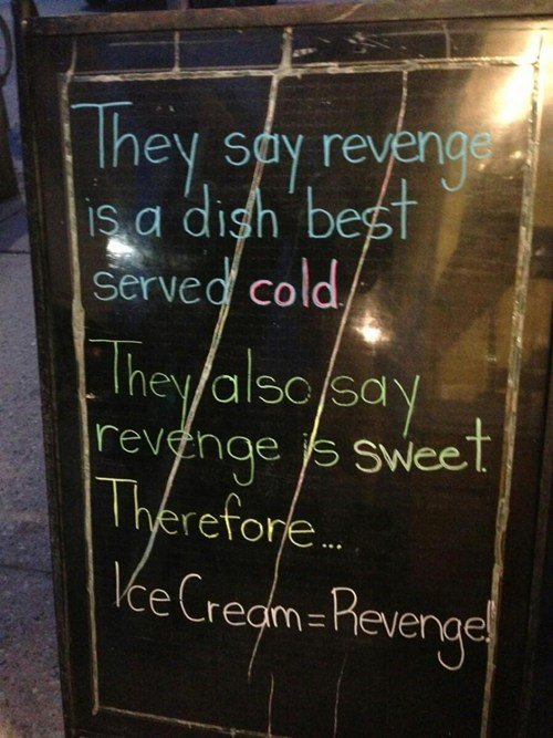 sign,ice cream,logic
