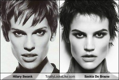 Hilary Swank Totally Looks Like Saskia De Brauw
