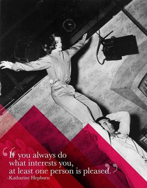 Sage Advice from Katharine Hepburn