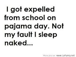 Pajama Day at School Is a Sticky Wicked