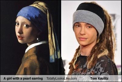 A Girl With a Pearl Earring Totally Looks Like Tom Kaulitz