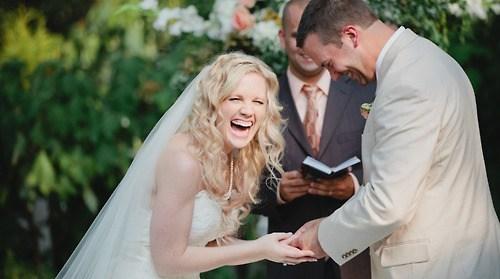 ceremonies,brides,laughing