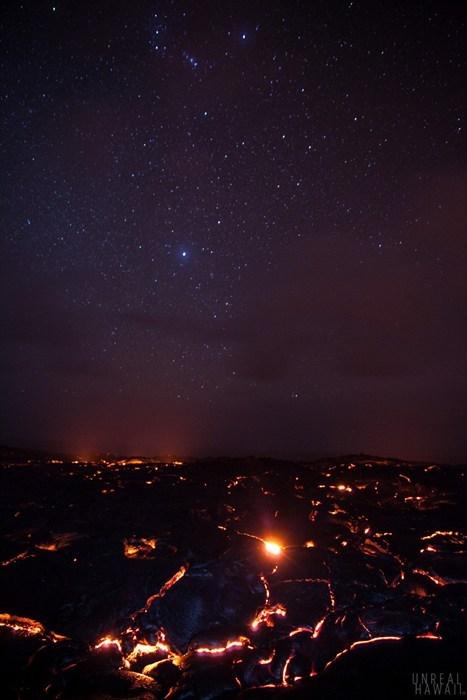 magma,Hawaii,stars,lava,night,destination WIN!,g rated