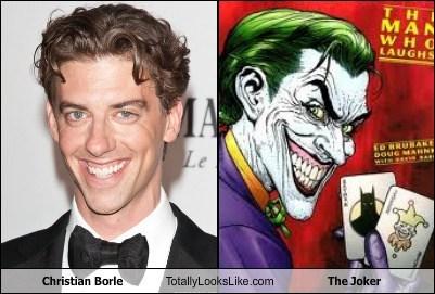 the joker,totally looks like,christian borle