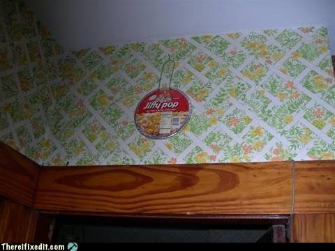 smoke detectors,Popcorn,jiffy pop,g rated,there I fixed it
