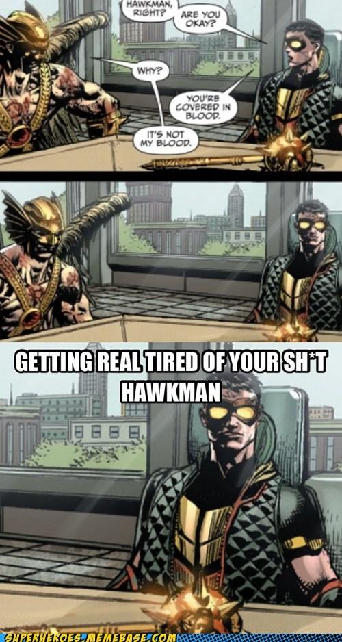 Blood,angry,Hawkman