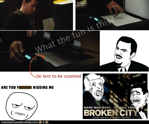 Broken City, Genius!!!