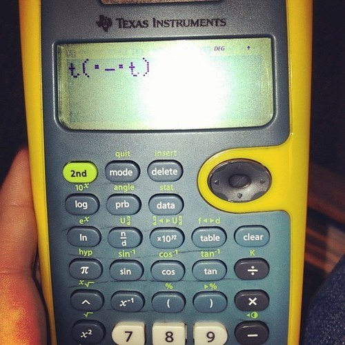 Your Calculator Just Doesn't Care