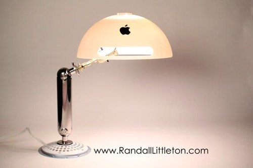 This Apple Lamp Recycles Differently