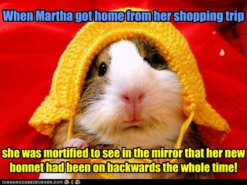 I'm Sure Nobody Noticed, Martha Dear