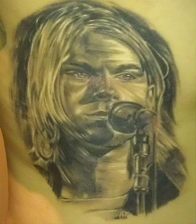 axl rose,kurt cobain,musicians