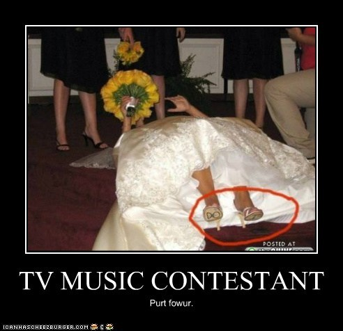 TV MUSIC CONTESTANT